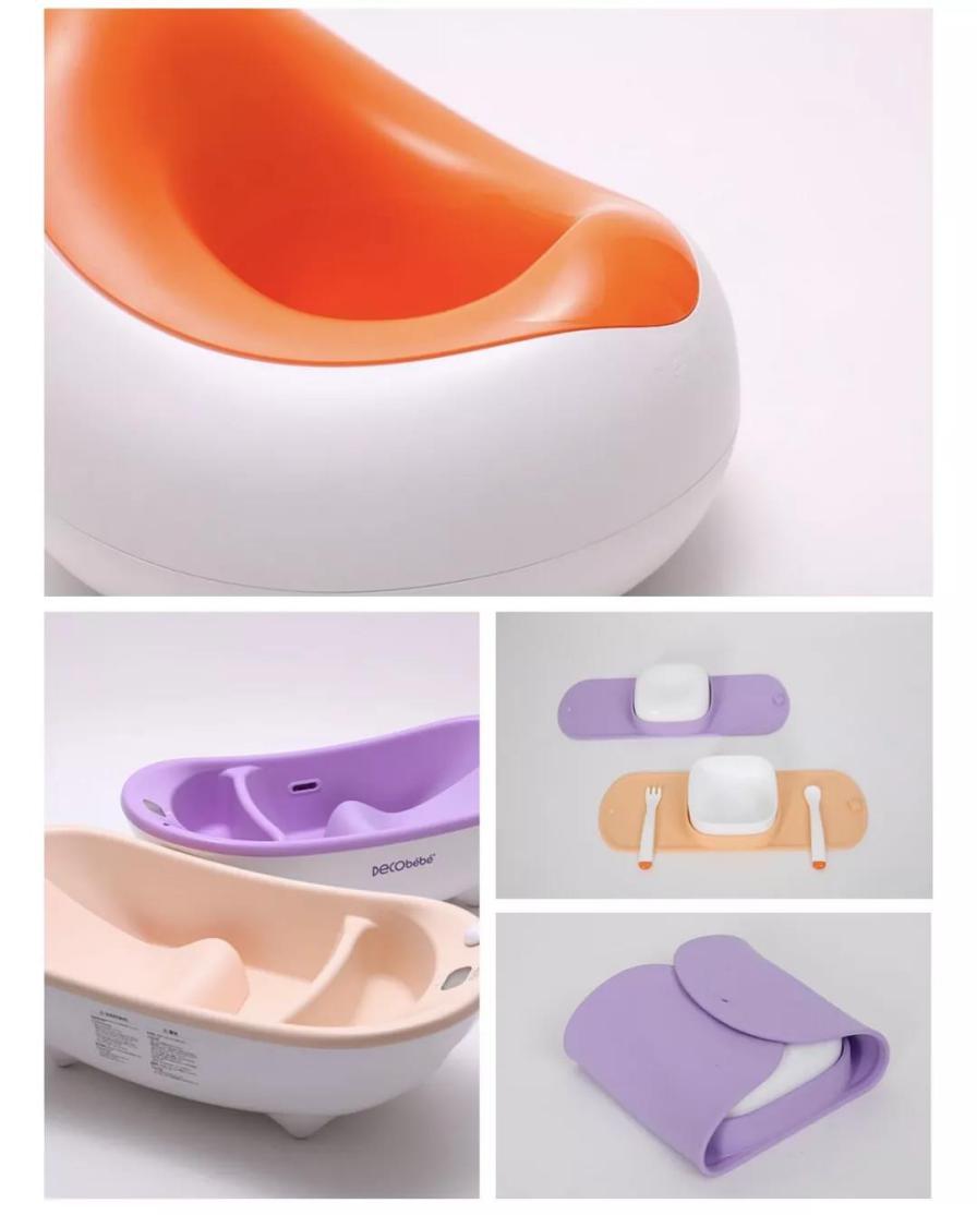 Decobébé德珂婴儿携儿童坐便器和餐具系列新产悉数亮相CKE中国婴童展