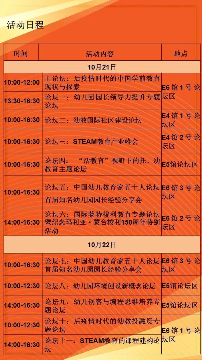 【重磅】倒计时8天!上海有一场幼教界的大狂欢等您来!上百大咖、近千品牌、学前托幼无所不含