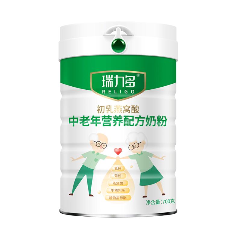 """瑞力多中老年奶粉新品上市,一款""""三高""""老人也可以喝的奶粉"""