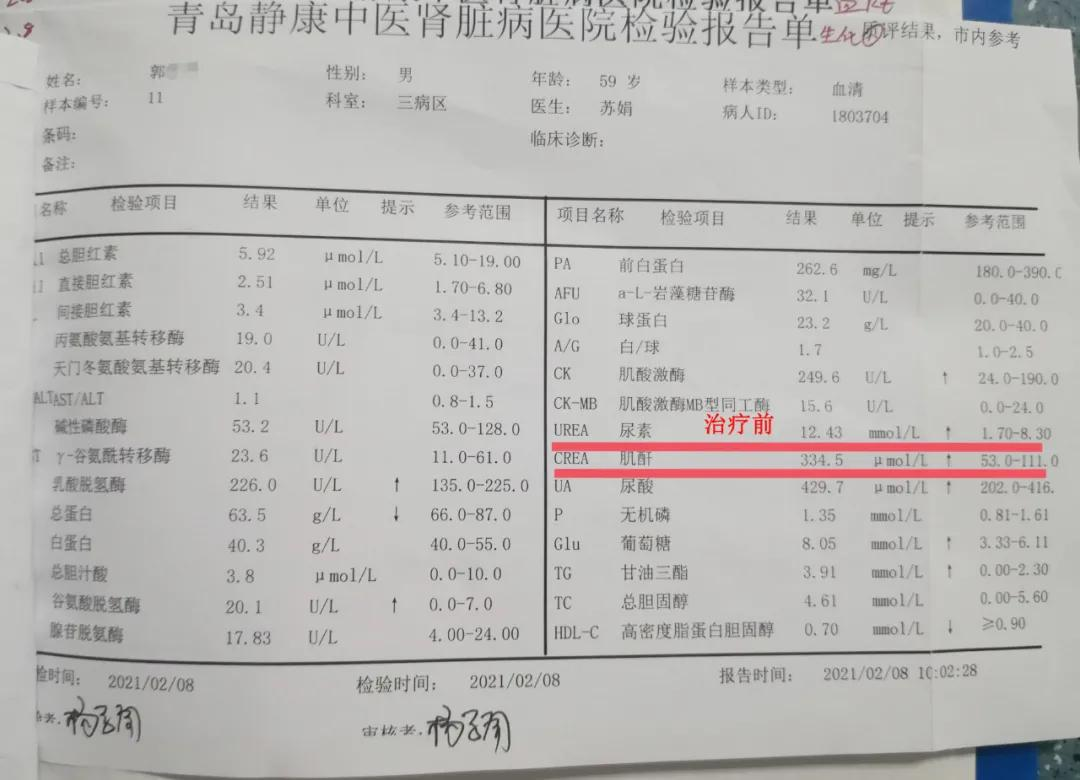 青岛静康医院慢性肾衰竭患者腹泻 导致病情急剧发展